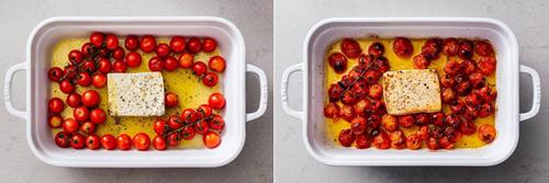 Как приготовить пасту с сыром фета и помидорами в духовке 1