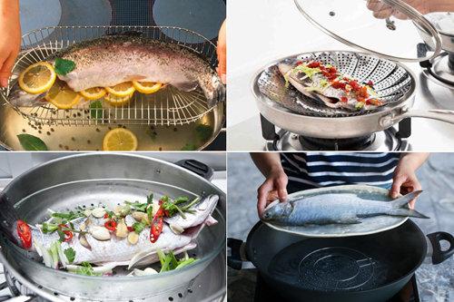 Как приготовить рыбу на пару без пароварки 2