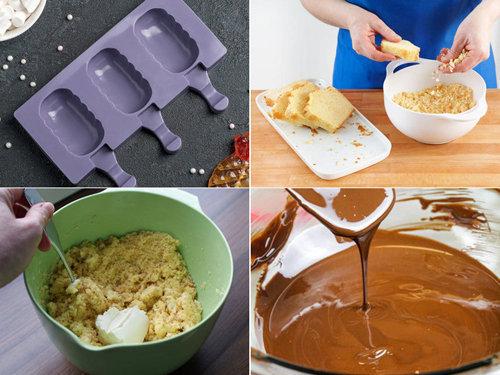 Рецепт пирожных эскимо 1