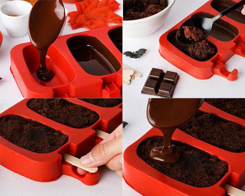 Рецепт шоколадных пирожных 1
