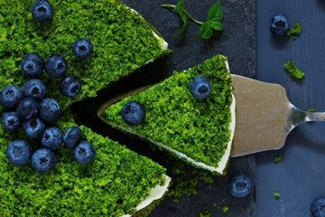Турецкий зеленый торт со шпинатом по-турецки - Ispanaklı Kek
