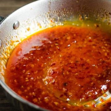 Как пригототвить Острый соус чили