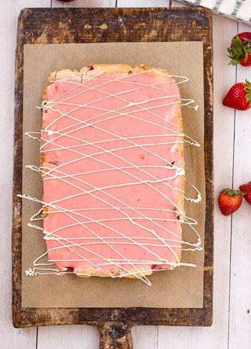 украсить пирог 1